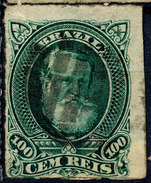 Stamp Brazil 1878 100r Lot#115 - Brazil