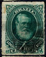 Stamp Brazil 1878 100r Lot#116 - Brazil