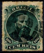 Stamp Brazil 1876 100r Lot#132 - Gebraucht