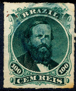 Stamp Brazil 1876 100r Lot#138 - Gebraucht