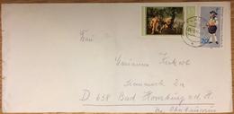 DDR, Plauen --> Bad Homburg 20.3.79, Merkur Und Argus, Peter Paul Rubens, Trachten Freiberger Hüttenmann - Brieven En Documenten