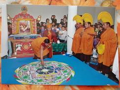 Russia. Altai. Tuva. Kyzyl. - Mandala Destruction Ceremony - Buddhism - Buddist Temple - Monk - Russia