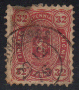 FINLANDIA - CLASICO. Yvert Nº 20 Usado Y Muy Defectuoso - 1856-1917 Russian Government