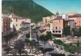 ATINA (Frosinone) - F/G  Acquarellata  (160713) - Altre Città