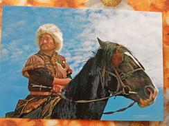 Russia. Altai. Tuva. Horseman - Horse - Russia