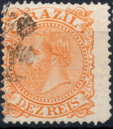 Stamp Brazil 1884 10r Lot#3 - Brazil