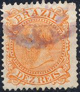 Stamp Brazil 1884 10r Lot#5 - Oblitérés