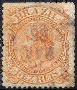 Stamp Brazil 1884 10r Lot#17 - Oblitérés