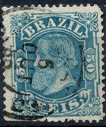 Stamp Brazil 1884 50r Lot#28 - Brésil