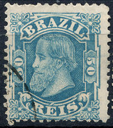 Stamp Brazil 1884 50r Lot#31 - Brésil