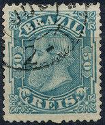 Stamp Brazil 1884 50r Lot#34 - Oblitérés
