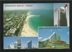 United Arab Emirates UAE Dubai 4 Scene  Picture Postcard Dubai View Card - Dubai