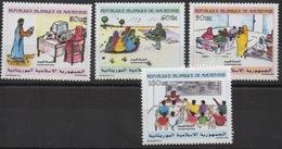Mauritanie Mauretanien Mauritania 2000 Mi. 1051 - 1054 Savoir Pour Tous Volksbildung Education Computer School Schule - Mauritanie (1960-...)