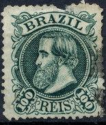 Stamp Brazil 1882 100r Lot#46 - Oblitérés