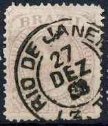 Stamp Brazil 1884 100r Lot#48 - Brésil