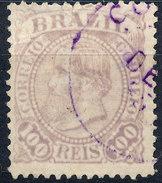 Stamp Brazil 1884 100r Lot#52 - Gebraucht