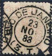 Stamp Brazil 1884 100r Lot#55 - Brésil