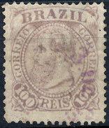 Stamp Brazil 1884 100r Lot#59 - Oblitérés