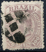 Stamp Brazil 1884 100r Lot#64 - Brésil