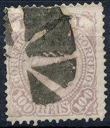 Stamp Brazil 1884 100r Lot#66 - Brésil