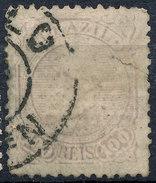 Stamp Brazil 1884 100r Lot#78 - Brésil
