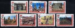 TCHAD 1999, Merveilles Du Monde Des Cultures Oubliées, 7 Valeurs, Oblitérés / Used. R1319 - Tchad (1960-...)