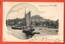 IAL-10 Blankenese  Süllberg. Litho. Pionier. Gelaufen In 1901 Nach Roubaix FR. - Blankenese