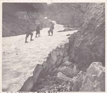 BRAIES - SUL NEVAIO DEL MONTE SERLA FOTOGRAFIA DEL 1934 - Luoghi