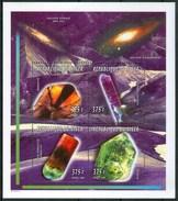 1996 Niger Minerali Minerals Minèraux Set 2 Block MNH** Fiog93 - Minerals