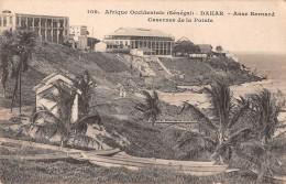 "06609 ""AFRIQUE OCCIDENTALE - SENEGAL - DAKAR - ANSE BERNARD . CASERNE DE LA POINTE"" ANIMATA. CART. ILL. ORIG. NON SPED. - Senegal"
