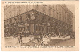 Restaurant Italien Poccardi 12, Rue Favart & 9 Bd Des Italiens - Façade Du Restaurant - Bar, Alberghi, Ristoranti