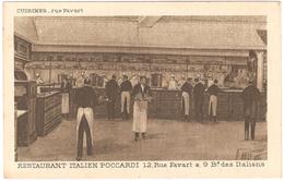 Restaurant Italien Poccardi 12, Rue Favart & 9 Bd Des Italiens - Cuisines - Bar, Alberghi, Ristoranti