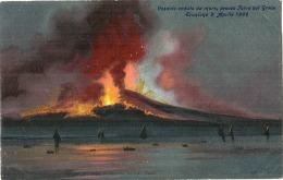 Vesuvio Veduto Da Mar  L'eruzione - Unused TTBE - Napoli