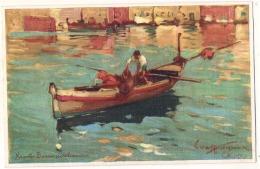 NAPOLI - Barca Peschereccia Viaggiata   TTB  Unused - Napoli