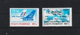 1995 - Compagnie Franco-Roumaine De Navig. Aerienne Mi 5071/72 Et Yv P.A. 319/320 - 1948-.... Republiken