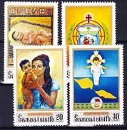 SAMOA 1970 YT N° 270 à 273 **