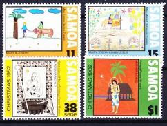 SAMOA 1982 YT N° 521 à 524 **