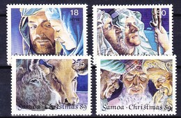 SAMOA 1989 YT N° 704 à 707 **