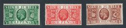 GRANDE-BRETAGNE - 1935 - Yvert N#  201(a)/203(a) - NEUFS ** Luxe MNH - 3 Valeurs Filigrane Inversé - George V - 1902-1951 (Könige)