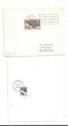 FLAMME & TIMBRE N° 1220 ....concordants ..affranchissement Au Verso.............à Voir - Marcophilie (Lettres)