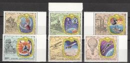 Zentralafrika 540/45 ** Postfrisch Post- Und Fernmeldewesen