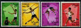 EG0143 Somalia 1968 Olympic Games 4v MNH - Somalia (1960-...)