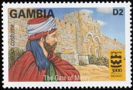 GAMBIA - Scott #1791 Turkish Costume, Gate Of Mercy / Mint NH Stamp - Gambia (1965-...)