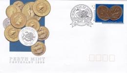 Australia FDC 1999 Perth Mint Centenary (T7A9)