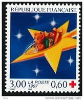 N° 3122  Année 1997  Croix-Rouge  Faciale 3,00 Francs + 0,60 - Neufs