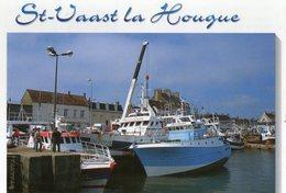 Saint Vaast La Hougue Le Port De Peche CPM Ou CPSM - Saint Vaast La Hougue