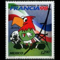 MEXICO 1998 - Scott# 2068 Soccer Iss.5.1 2.3p MNH - Mexico