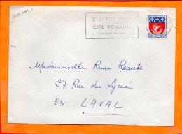 DROME, Die, Flamme à Texte, Tourisme, Cité Romaine - Poststempel (Briefe)