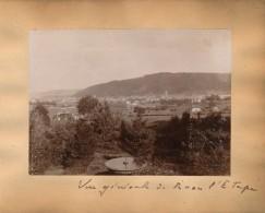 """G45 - Photographie - Vue Générale De RAON L'ETAPE - 88 - Vosges - Au Verso """"Perdus Dans La Forêt"""" - Photos"""