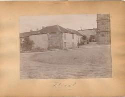 G45 - Photographie - ETIVAL - Le Village - Au Verso L'Abbaye De MOYENMOUTIERS - 88 - Vosges - Antiche (ante 1900)